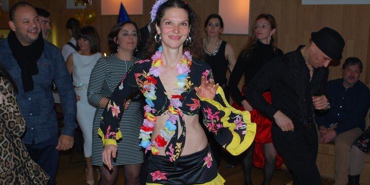 V rytmu kubánské salsy - taneční lekce pro dospělé
