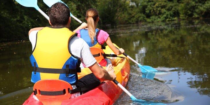 Plavba pro 2 po historickém Opatovickém kanálu s úchvatnou přírodou