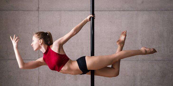 Ladný tanec i posilování: jedna lekce poledance nebo celý kurz pro začátečníky