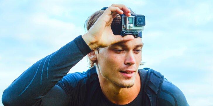 Zážitky, na které nezapomenete: zapůjčení GoPro kamery na dovolenou