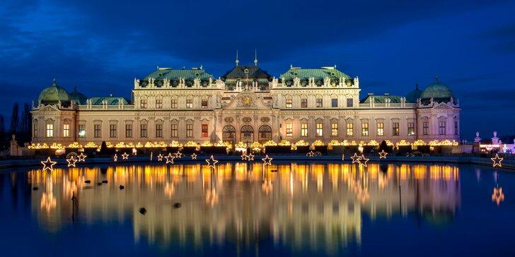 Za romantikou i památkami: 2 až 4 dny v centru Vídně se snídaní pro dvě osoby