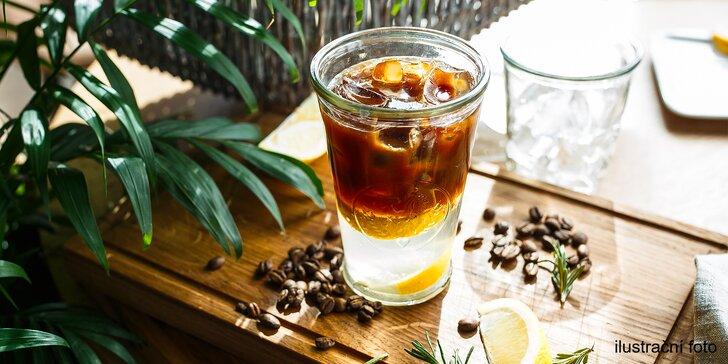 Osvěžení i životabudič: silné espresso z kávy Nordbeans s tonikem