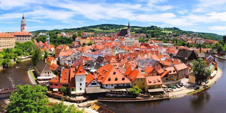 Zážitkový pobyt v centru Českého Krumlova: brunch a středověký program