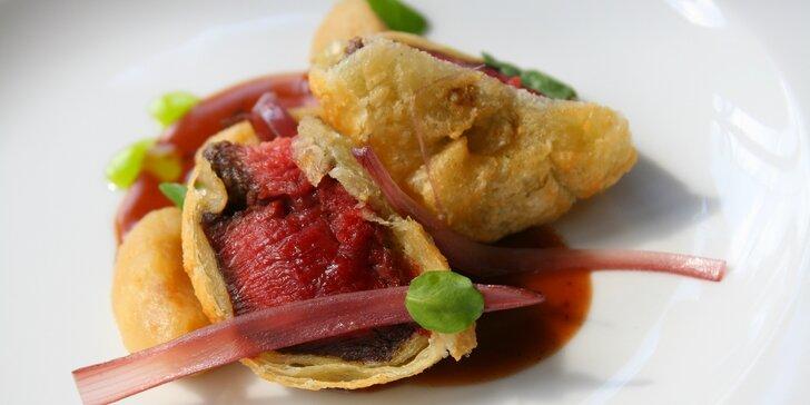 10 chodů, co vás zbaví slov: Degustační francouzské menu v Guest restaurantu