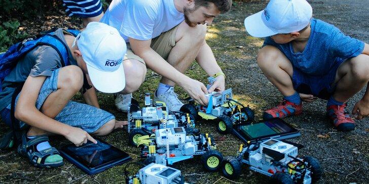 Pětidenní příměstský tábor pro malé vědátory: úžasný svět robototechniky