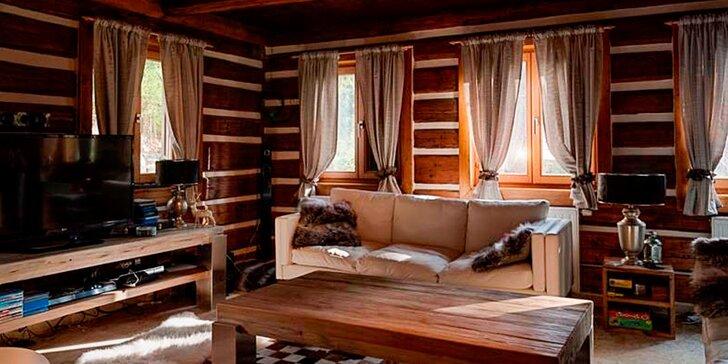 Luxusní chata v Jizerkách až pro 6 osob s vlastním wellness, terasou a grilem