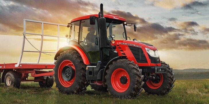 Na 30 minut traktoristou: Zážitková jízda za volantem Zetoru i s instruktáží