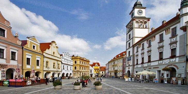 Babí léto v Třeboni: báječný relax se snídaní a masáží lávovými kameny