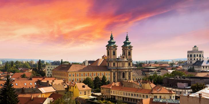 Pobyt v Maďarsku u historického Egeru: polopenze, wellness a 2 děti zdarma