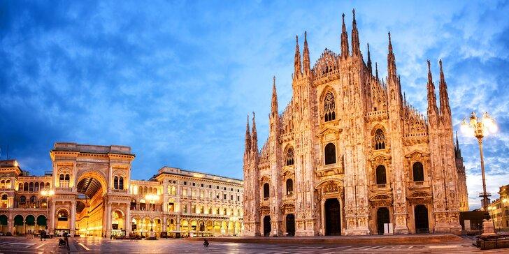 3 nebo 4 dny v italském Miláně: hotel se snídaní jen tři zastávky od Duoma