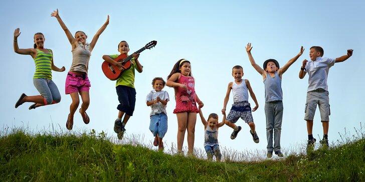Týdenní dětský tábor v krásném prostředí Šumavy se sportem a zábavou