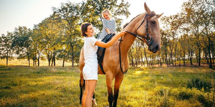Den s koňmi na Šťastném ranči u Prahy: jednodenní příměstský tábor s programem