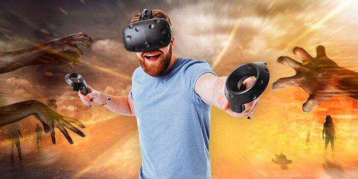 Nevšední zážitek: vypravte se sami, ve dvou nebo s partou přátel do virtuální reality