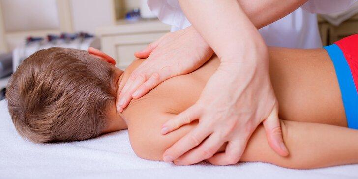 Do školy v kondici: masáž pro děti ve věku 4-14 let