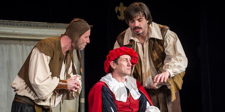 Vstupenka do divadla na představení Příběh jednoho hradu
