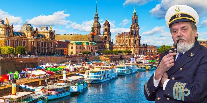 Výletní plavba do Drážďan: oběd, ochutnávka vín a večerní raut all you can eat
