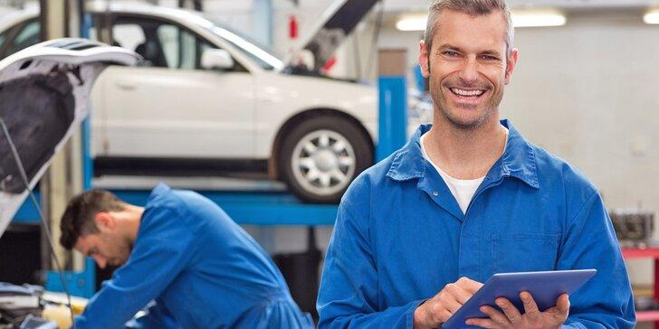 Kompletní seřízení vozu a test tlumičů pro bezpečnou jízdu