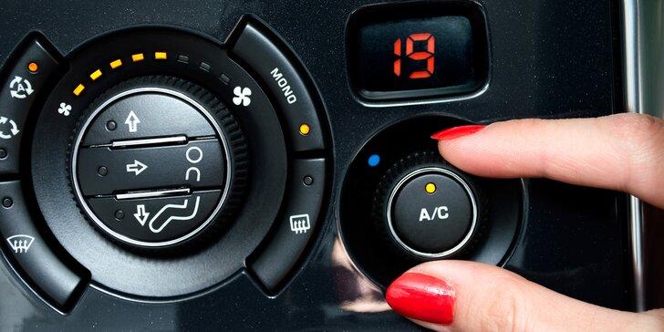 Kontrola a servis klimatizace pro osobní auta i dodávky