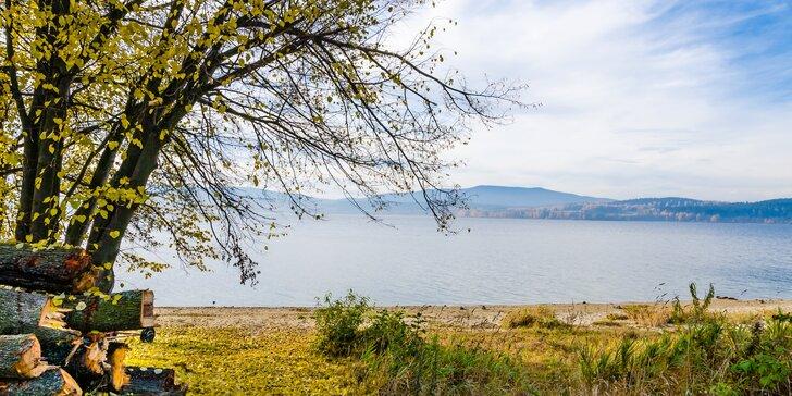 Babí léto a podzim na Lipně: Pobyt pro dva se snídaní, vířivkou i zapůjčením kol