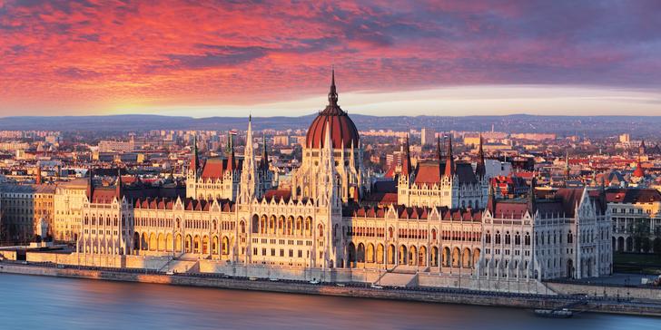 Podzimní výlet do romantické Budapešti s možností plavby lodí po Dunaji