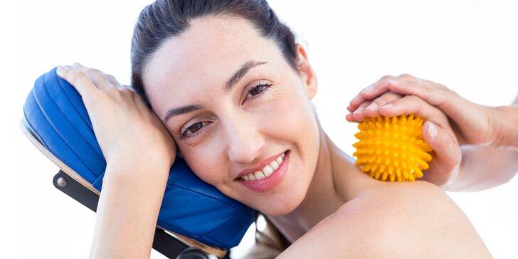 Míčková facilitace: odstranění bolestí nosních dutin a otoků obličeje