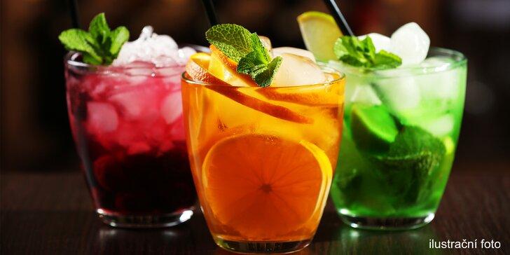 Dva nebo pět míchaných drinků pro dvojice i partu přátel