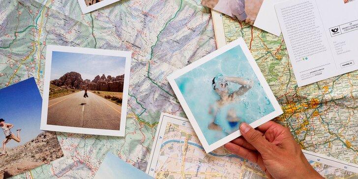 Sdílejte radost z cest: pohled s vaší vlastní fotkou a doručení po celém světě