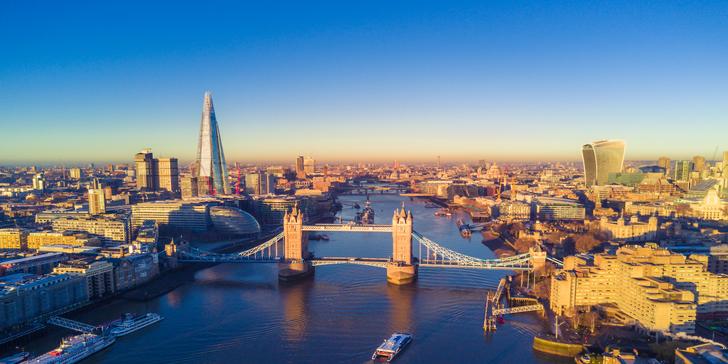 Letecky do Londýna s možností dokoupení vstupenky na muzikál vč. průvodce