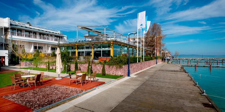 Relaxační pobyt i pro rodiny s dětmi ve Wellness Hotelu Yacht**** na Balatonu