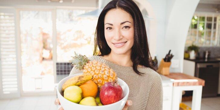 3hodinový kurz Základy výživy prakticky I.: Jak na správné stravování
