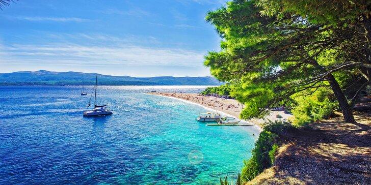 8 dní na chorvatském ostrově Vir – studia a apartmány s bazénem 80 m od moře