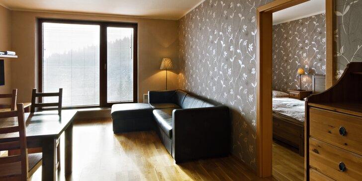 Týdenní pobyt pro 4-8 osob v luxusním apartmánu v Krkonoších