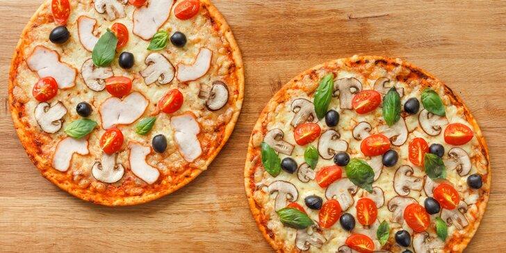 Roztočte svá kola štěstí: 2 pizzy všech vůní a barev a 2 nealko nápoje k tomu