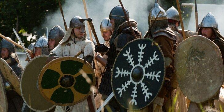 11. ročník raně středověké bitvy Rogar - poučný výlet s rodinou