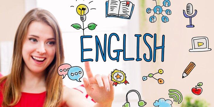 4měsíční kurz angličtiny konverzační Callanovou metodou pro všechny úrovně