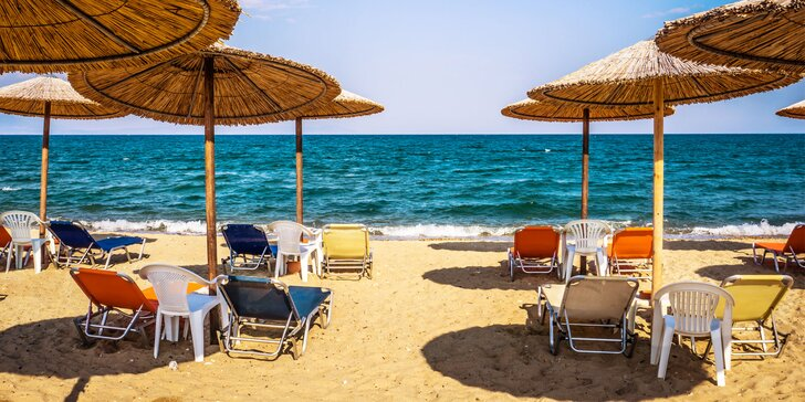 Hurá na pláž: 8 až 18 nocí v Řecku včetně autobusové či letecké dopravy