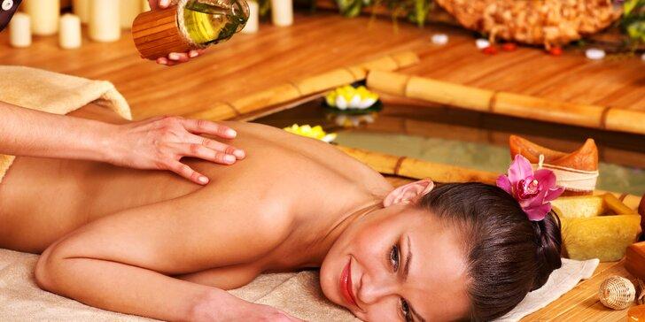 Maximální uvolnění s eukalyptovým olejem: Masáž zad, šíje, chodidel a lýtek
