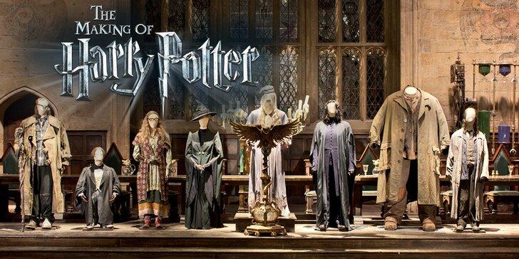 Výlet do Londýna a návštěva filmových ateliérů Harryho Pottera