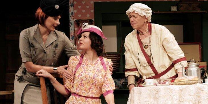 Vstupenka na divadelní komedii - Báječná neděle v parku Créve Coeu