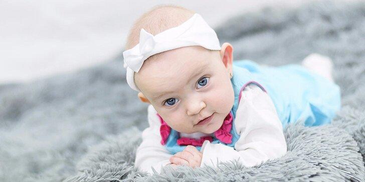 Mějte u čeho vzpomínat: dětské, rodinné, portrétní či těhotenské focení s profíkem