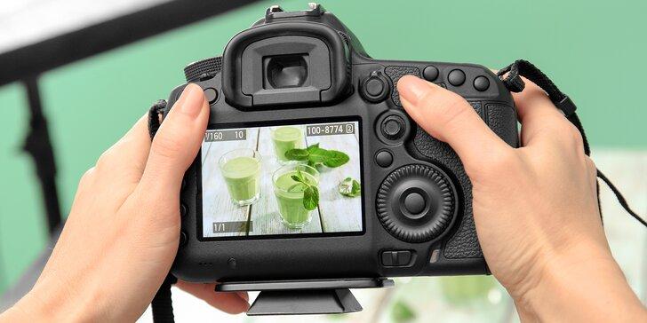 Naučte se vyfotit jídlo atraktivně: kurz focení jídla s profesionálním fotografem