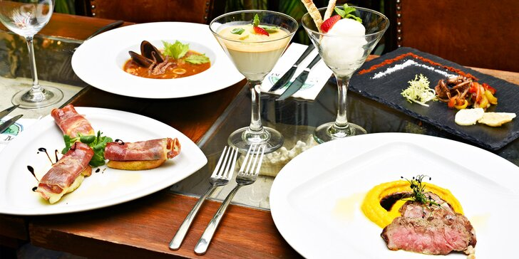 Labužnická euforie: Degustační 6chodové menu v La Bodeguita del Medio pro dva