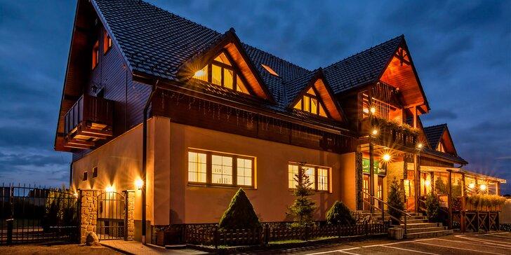 Vysoké Tatry pro dvojice i rodiny: Penzion na úpatí hor, polopenze, krásná příroda