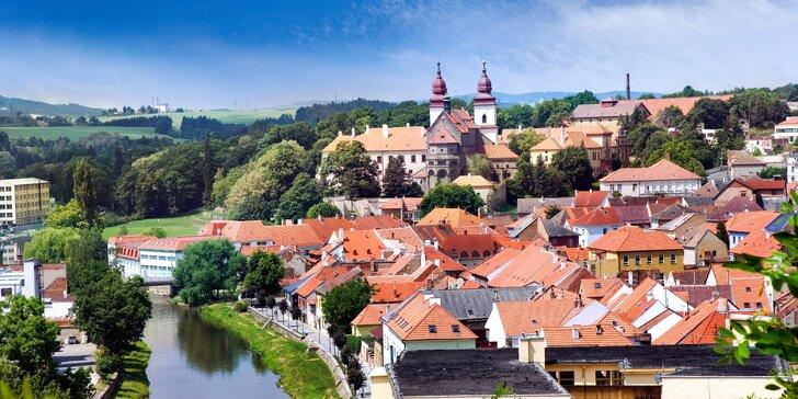 Odpočinek vonící poznáním: Aquapark i památky UNESCO v historické Třebíči