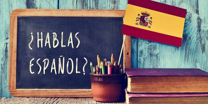4měsíční kurz španělštiny konverzační Callanovou metodou pro začátečníky