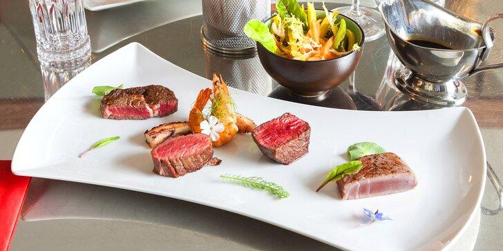 O tomhle gurmáni sní: Fish & beef variace v luxusní restauraci Satuy pro 2 osoby