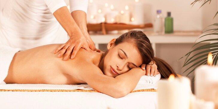 Léčebná meridiánová masáž ve studiu Life Energy v délce 50 minut
