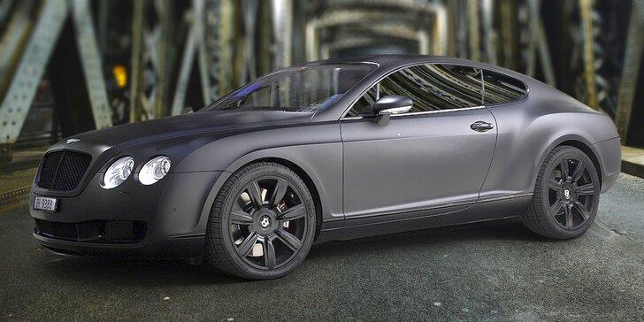 Půjčte si Bentley GT: rychlý bourák se silným motorem a luxusním interiérem