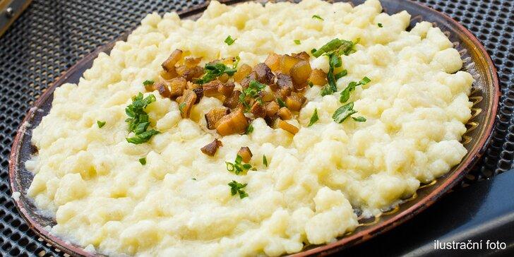 Tradiční halušky se slaninou a brynzou – jako od slovenské babičky