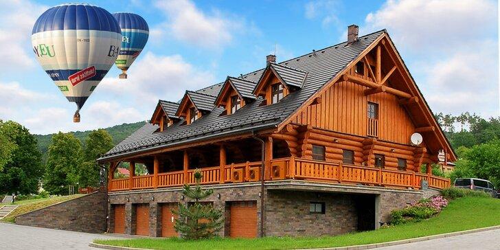 Vzhůru do oblak: 3 báječné dny ve srubu u Buchlova s možností letu balónem